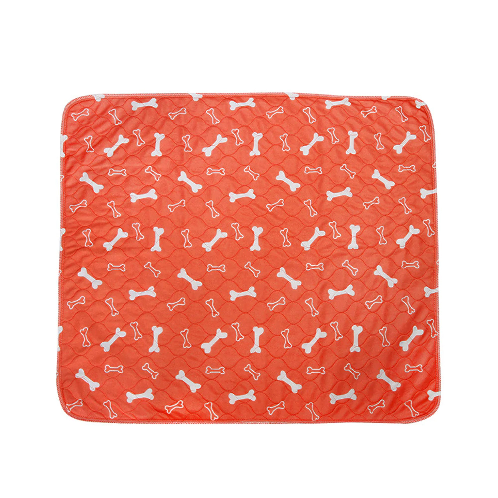 Super Absorption Puppy Pad For Pee & Dirt-Orange-S