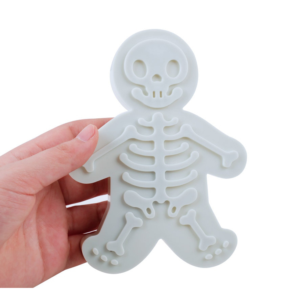 Tasty Skeleton Gingerbread Cookie Cutter
