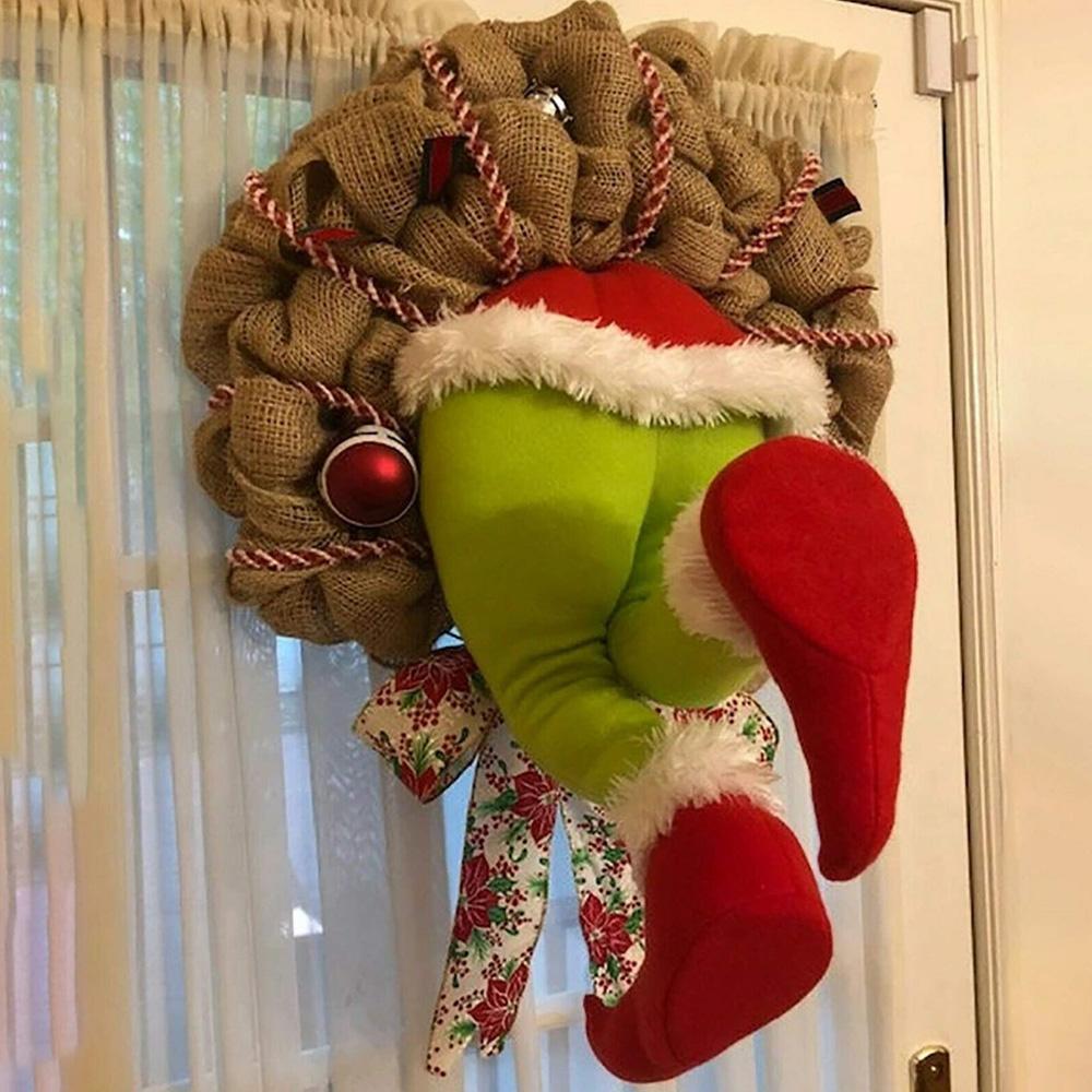 Thief Grinch Christmas Wreath