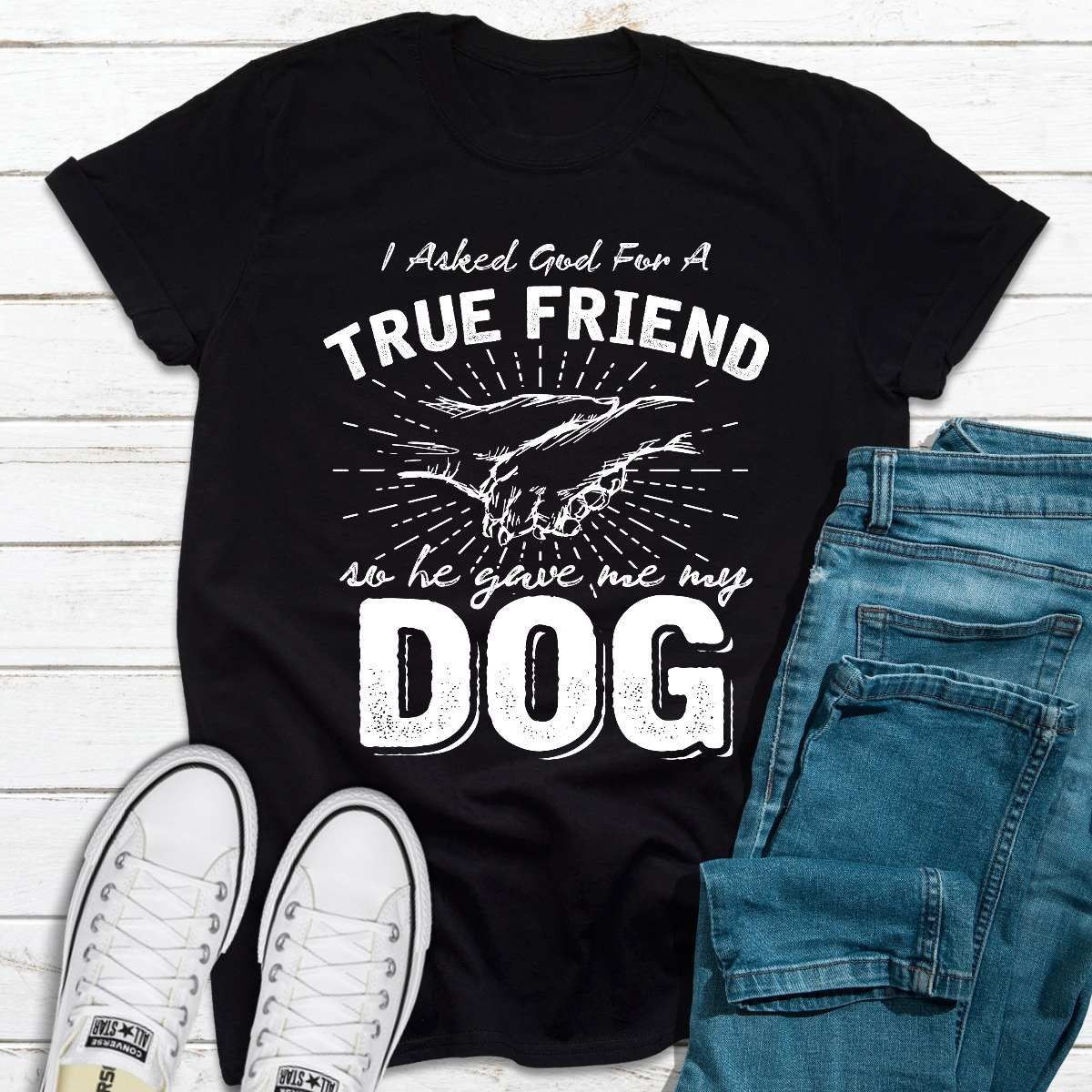 I Asked God For A True Friend