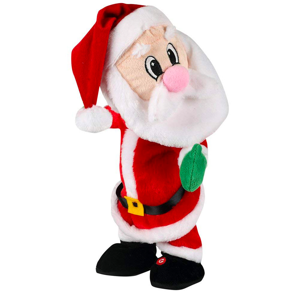 Electric Twerking Santa Claus Toy