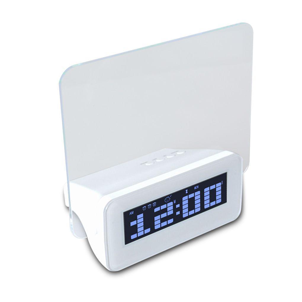 Digital Alarm Clock with Message Board