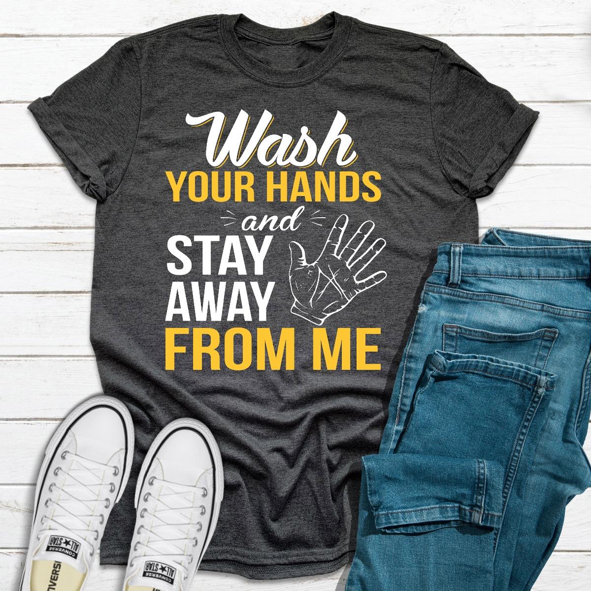 Wash Your Hands (Dark Heather / S)