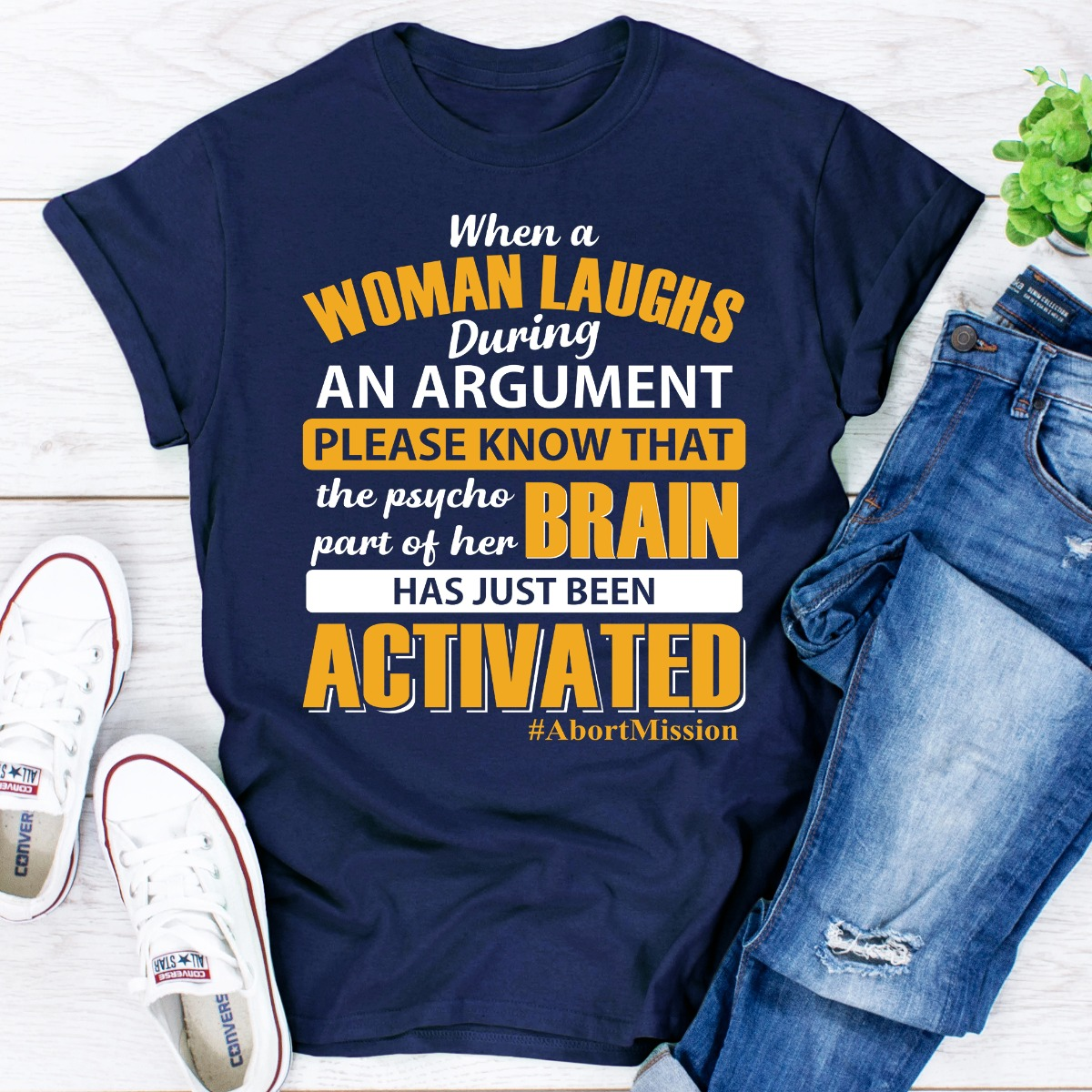 When A Woman Laughs During An Argument