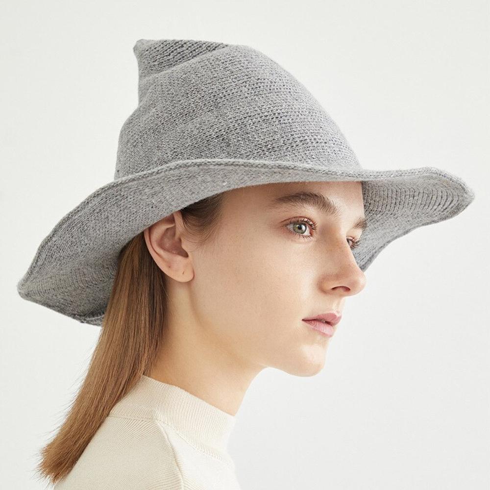 Woolen Modern Witch Hat