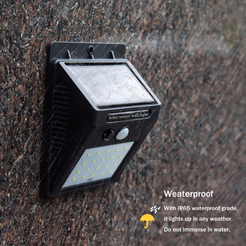 Solar Lamp Wall Sensor Light