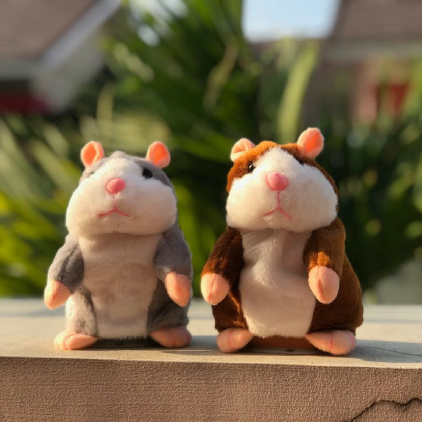 Talking Hamster Toy Repeats What You Say